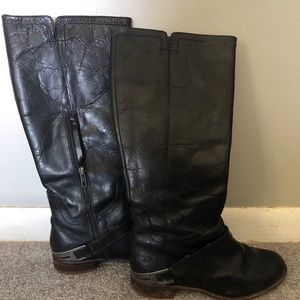 UGG Leather Riding Boots